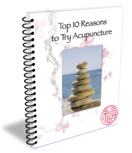 Sign up to receive news and updates and get this free report: The Top 10 Reasons to Try Acupuncture